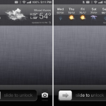 How to add forecast weather to jailbroken iPhone iPad lock screen