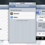 Make Google Chrome default browser for jailbroken iPhone / iPad