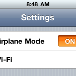 airplanemode iphone no sim