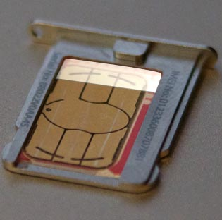 iphone sim card problem